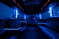 Limo coach interior lighting